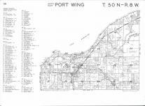 Port Wing T50N-R8W, Bayfield County 1974